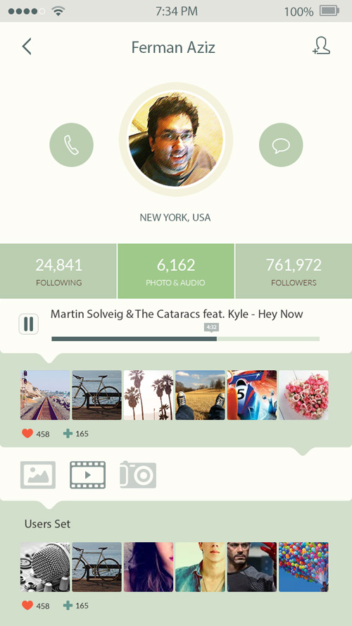 iOS7 App Design UI Design Concepts to Boost User Experience