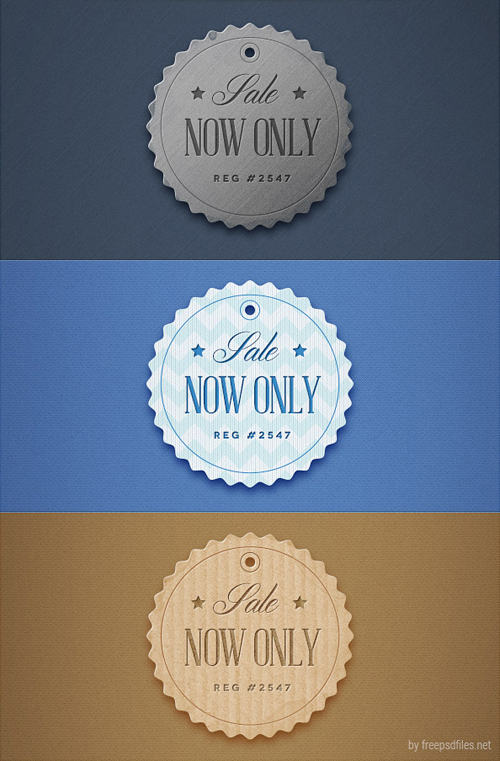 Retro Badge PSD Templates