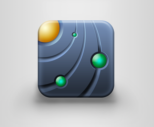 iOS icon for Orbit Lab