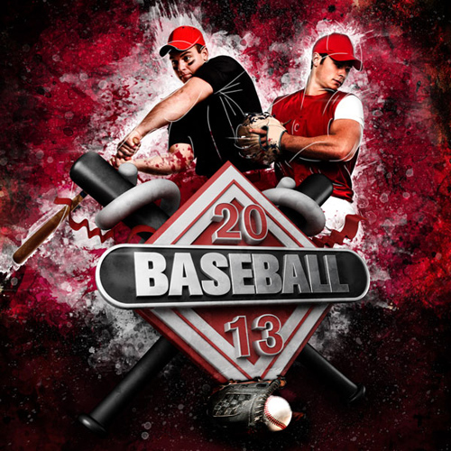 Create a 3D Sports Graphics Illustration