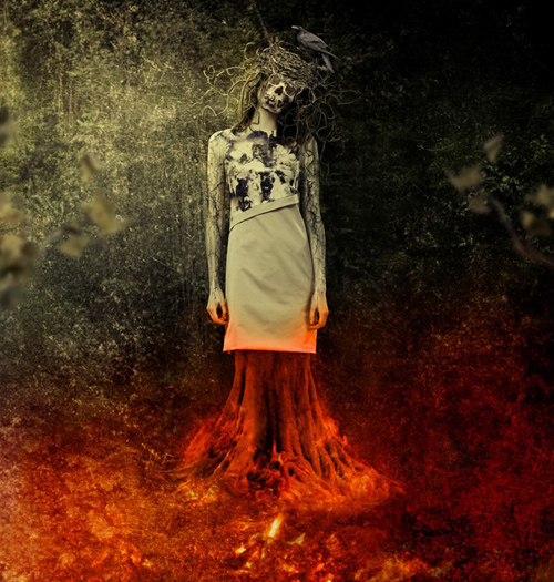 Create a Chilling Abstract Using Photos and Textures in Photoshop