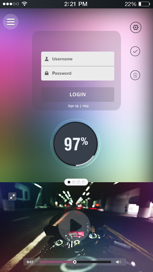 Mobile Apps concept UI Design Concepts to Boost User Experience