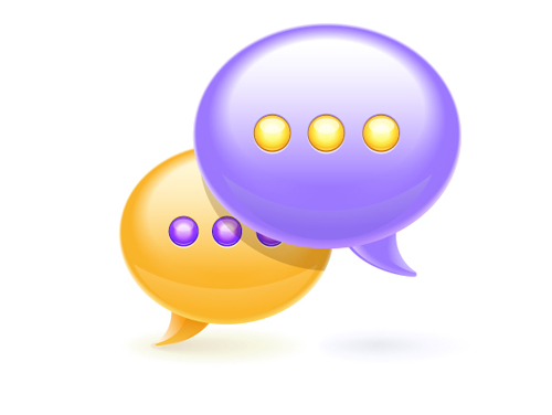Chat bubble icon