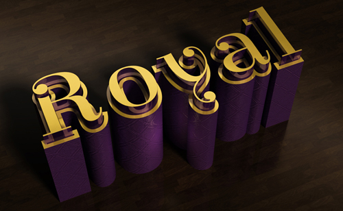 Create an Elegant 3D Text Effect in Photoshop CS6
