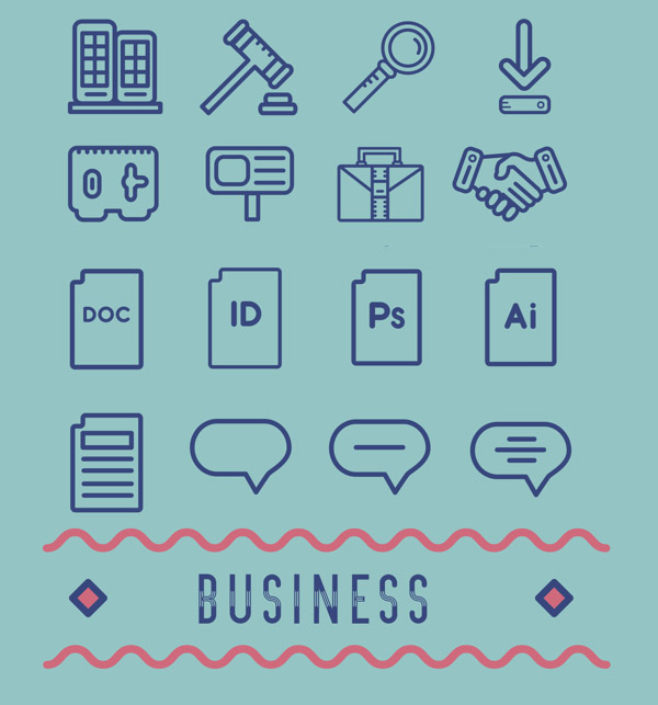 Business Pictogram