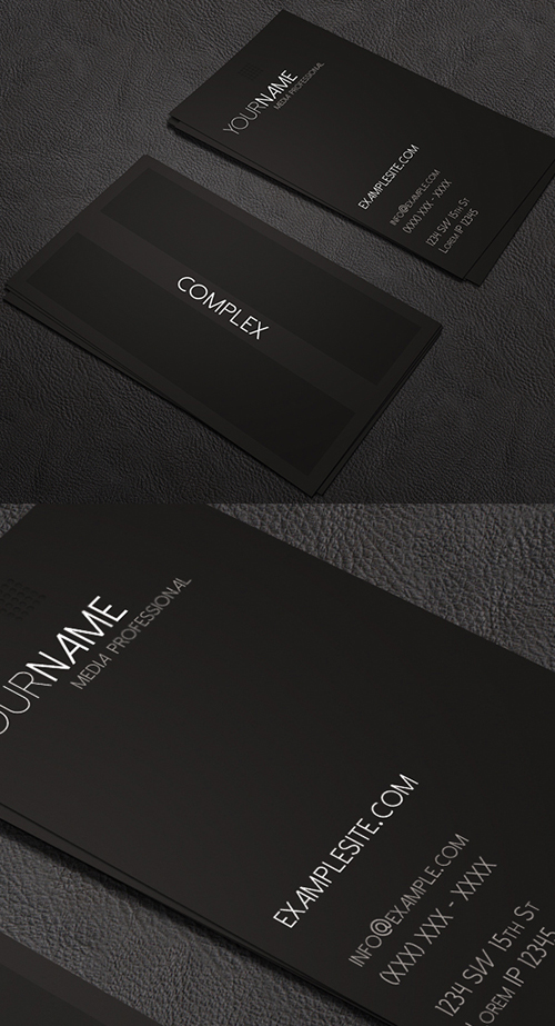 Complex Business Card