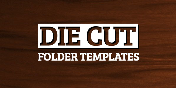 182 Free Die Cut Folder Templates to Download from CompanyFolders.com