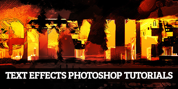 19 New Photoshop Text Effect Tutorials
