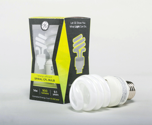 GE Lighting Concept Packaging Design
