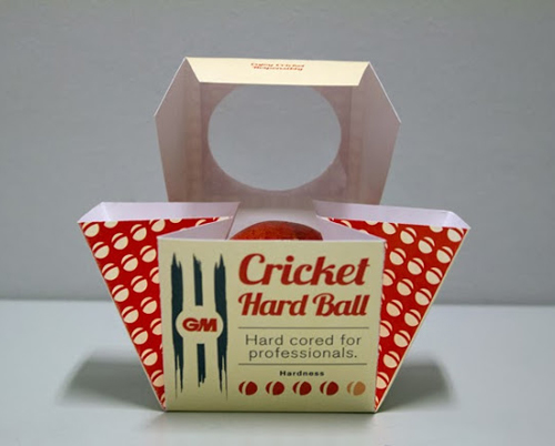 Cricket Equipment Packaging Design