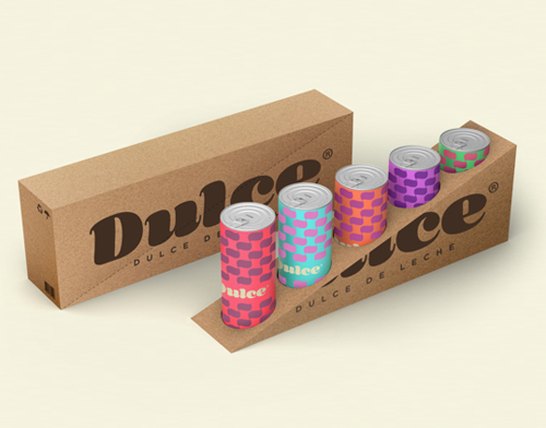 Dulce Drink Packaging Design