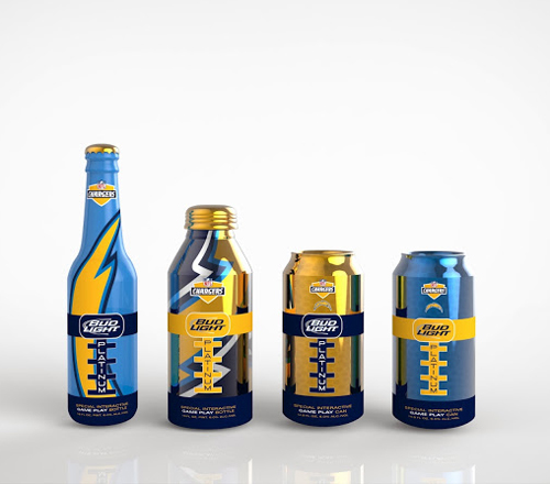Bud Light Packaging Design