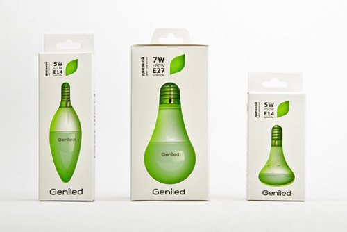 Geniled Packaging Design