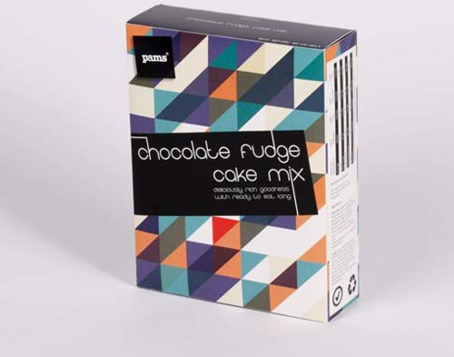 Milk, Chocolate and Salad Packaging Design