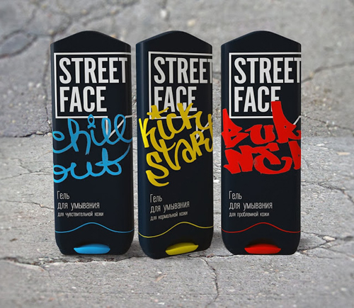 Street Face Packaging Design