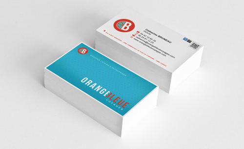 Creative examples of branding business card - 19