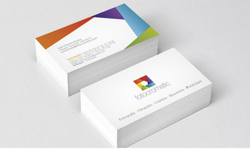 Creative examples of branding business card - 3