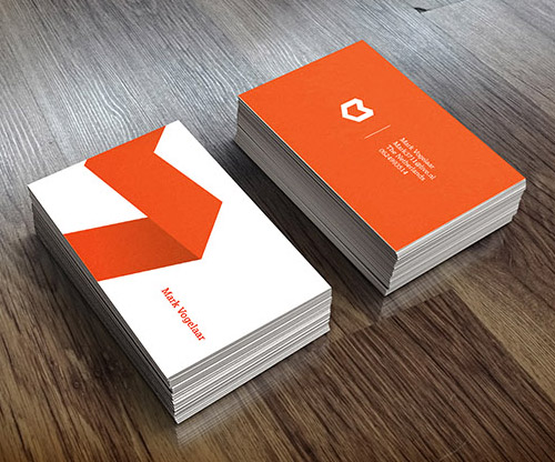 Creative examples of branding business card - 4