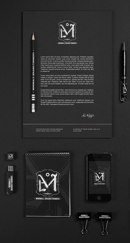 Creative examples of branding stationary - 11