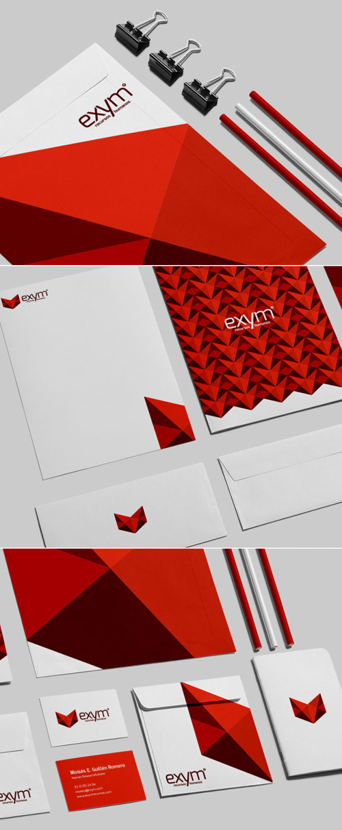 Creative examples of branding stationary - 14