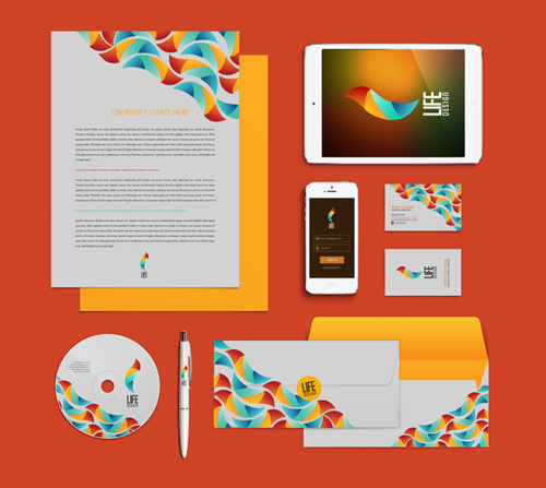 Creative examples of branding stationary - 15