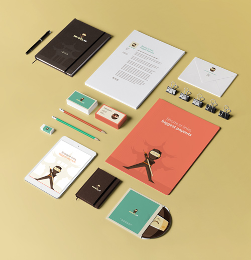 Creative examples of branding stationary - 16