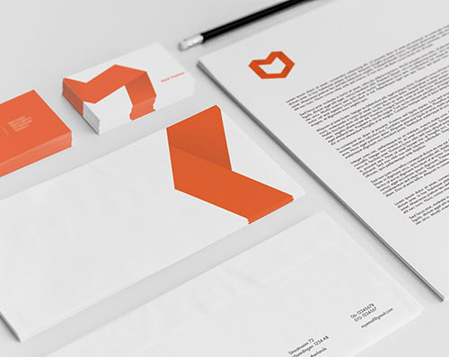 Creative examples of branding stationary - 4