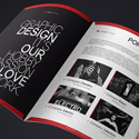 Post Thumbnail of 15 Creative Print Ready Business Brochure Designs