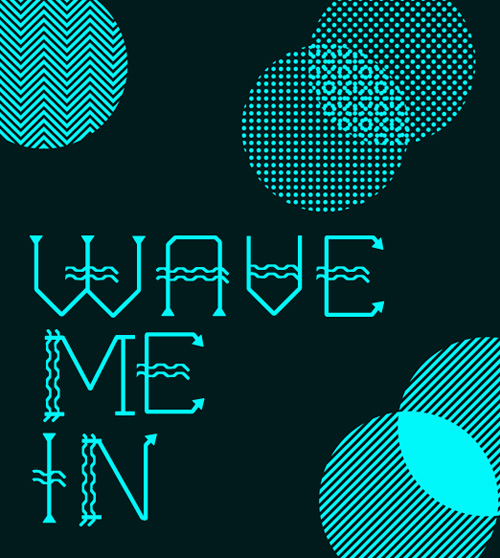 WAVE ME IN Fonts