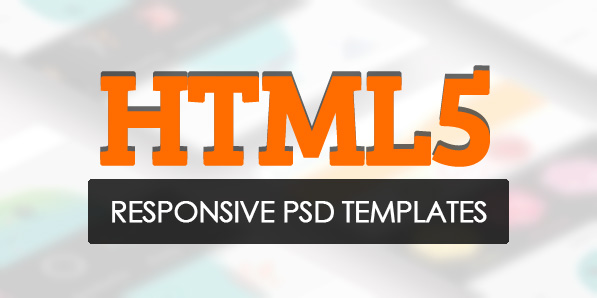 New HTML5 Responsive Templates