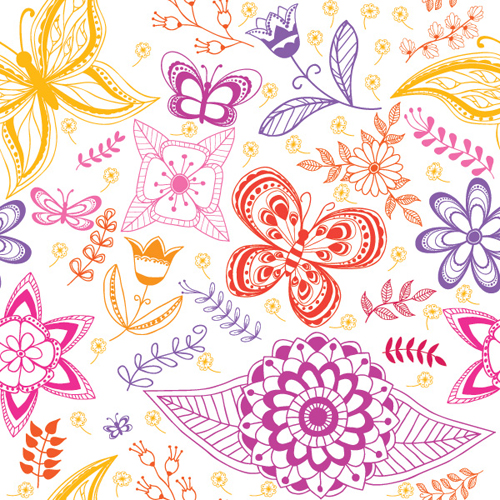 Summer Pattern Vector Graphic - 13