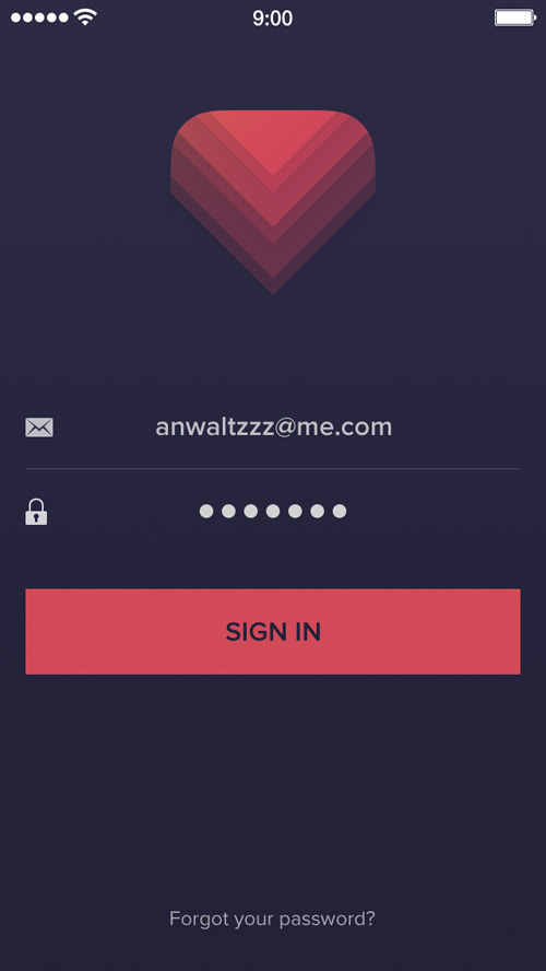 Modern App Sign In UI and Login UI Screen Designs-15