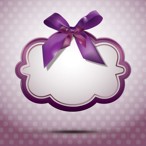 Ribbon Message Vector Graphic - 21