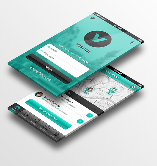 modern app sign in ui and login ui screen designs 31 - App Design Ideas