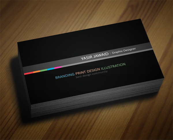 Free Business Card Mockup (PSD) | Freebies | Graphic Design Junction