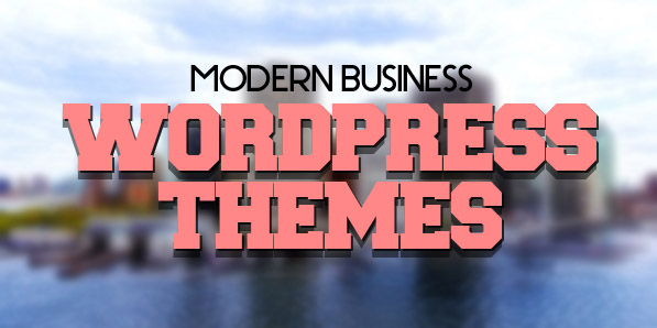 17 Modern Business WordPress Themes