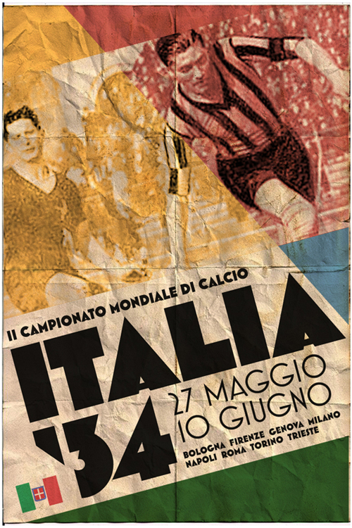 Fifa World Cup 1934 Poster