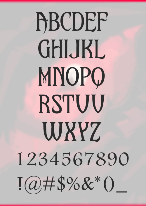 Upon A Dream Free Font