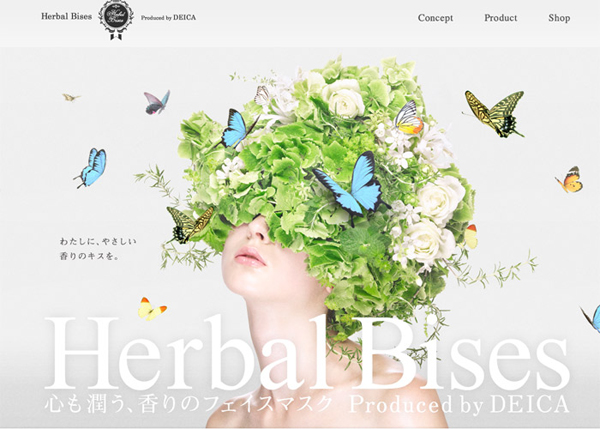 Herbal Bises #CSS3 #website #design