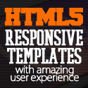 Post thumbnail of New HTML5 and CSS3 Responsive Templates with Amazing UX