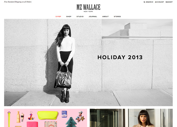 MZ Wallace #CSS3 #website #design