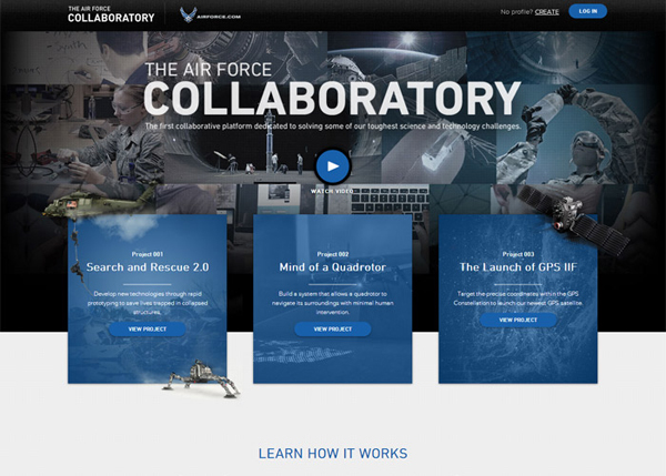 The Collaboratory #CSS3 #website #design