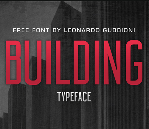 Building Free Typeface