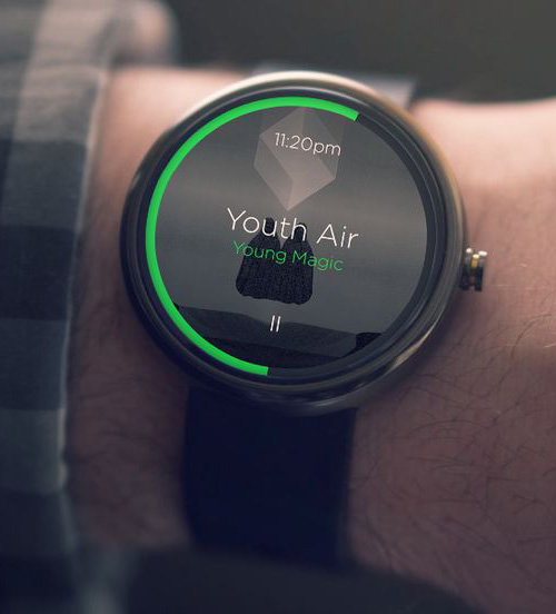 Moto 360 / Music Player