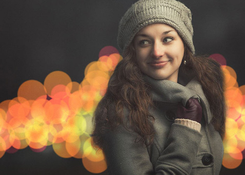 Create Bokeh Effect in Photoshop Tutorial