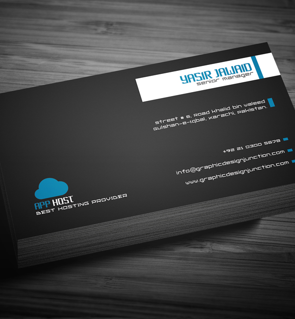 Free Corporate Business Card View 4
