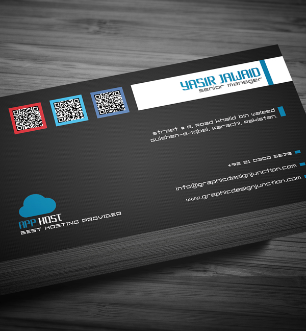 Free Corporate Business Card View 5