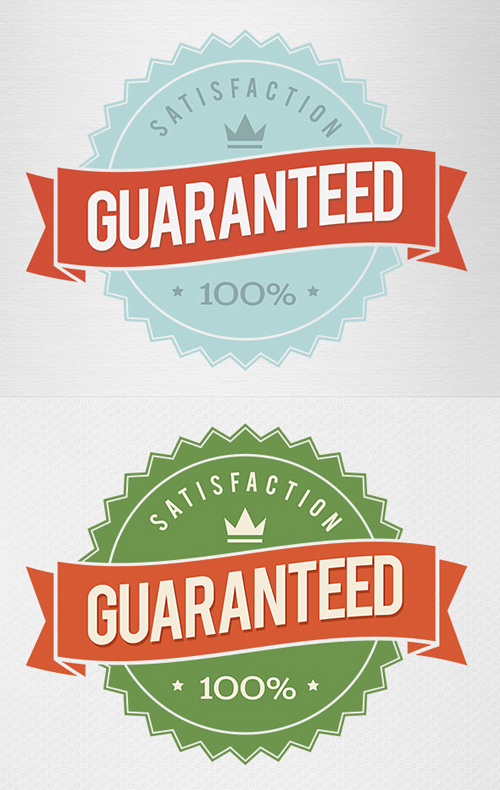 Guaranteed PSD Badge