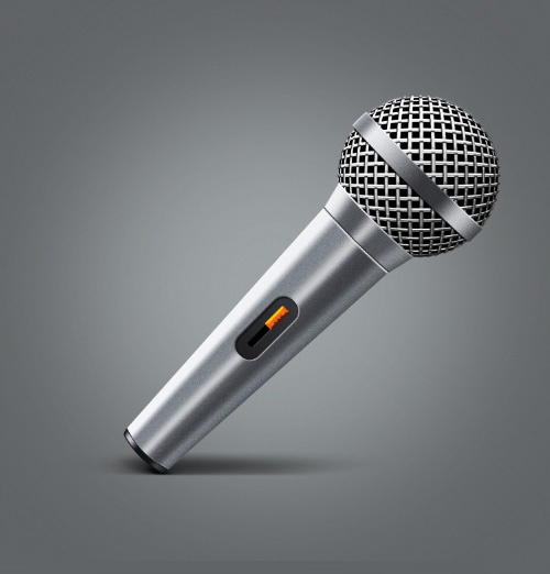 Create a Microphone in Adobe Photoshop & Illustrator