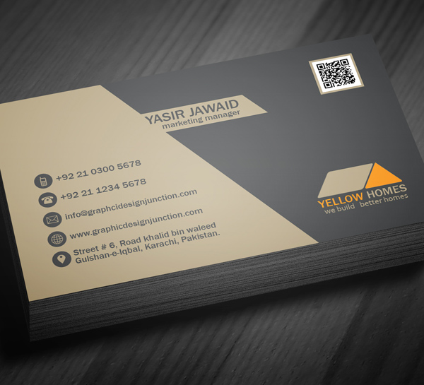 Real Estate Business Card Template - 3